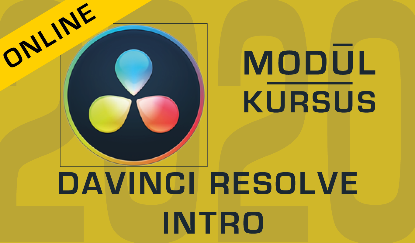 Videoredigering med Davinci Resolve - Intro
